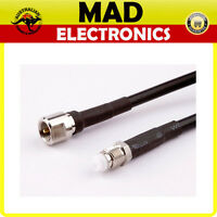 10m FME COAXIAL CABLE EXTENSION MOBILE PHONE/MODEM ANTENNA/PATCH LEAD COAX RG58U