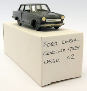 USSR Branded 1/43 Scale - USSR02 Ford Consul Cortina MK1 Grey