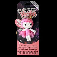 Watchover Voodoo Doll 'The Hairdresser' Car Rear View Mirror Hanger Keyring