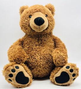 "Kohl's Care 14"" Large Brown & Tan Soft Teddy Bear Plush Stuffed Animal Toy"