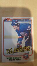 1981-82 Topps #4 Mike Bossy New York Islanders Hockey Card NM-MT