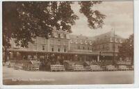 Ansichtskarte Bad Pyrmont - Blick auf das Kurhaus von der Parkseite aus - 1926