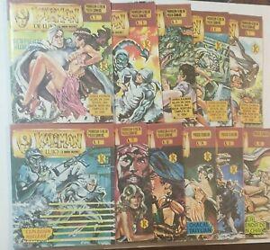 Kaliman De Lujo, Mexican Comic, Spanish, In Color, Lot Of 12