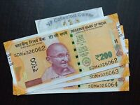 India New 10 Rupees Gandhi Replacement Star Series 02F Prefix L Inset 2018 UNC