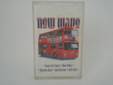 NEW WAVE - TEARS FOR FEARS - New Order - Bronski Beat (Cassette Audio-K7-Tape)