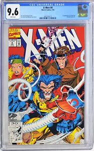 S218. X-MEN #4 Marvel CGC 9.6 NM+ (1992) 1st App of OMEGA RED (Arkady Rossovich)