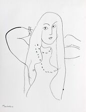 Henri Matisse Lithograph Drawing / Dessins Limited First Edition N4 1943 Rare D