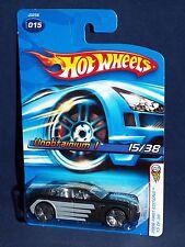 Hot Wheels 2006 First Editions #15 Unobtainium I Black w/ Clear Windows Blings