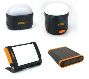 Fox Halo Power Bivvy Light or Power Battery Pack Night Fishing Light