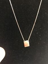 Necklace Sterling Silver NWT Free Shipping Monogram Ready
