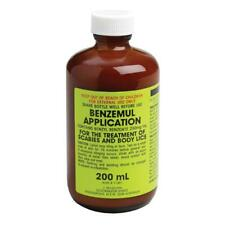 Benzemul Application Scabies & Body Lice Lotion 200mL Infection Infestation