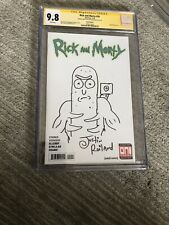 Rick and Morty #34 Pickle Rick Sketch by Justin Roiland CGC SS 9.8