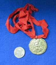 Omnisport Medal and Ribbon Club Mediterranee Gold Color B