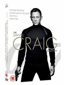James Bond - The Daniel Craig Collection  4-Pack (DVD) Daniel Craig 007 NEW