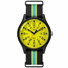 Timex TW2T25700 MK1 Aluminum California 40MM Men's Multicolored Canvas Watch