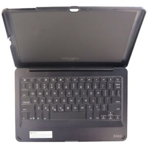 ZAGG Folio Series Wireless Tablet Keyboard and Case for Ellipsis 10 HD - Black