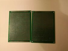 2 x  Universal Prototype PCB Bread Board Double Side Tinned  5cm x 7cm