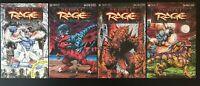 Primal Rage Set of 1 2 3 4 1996 first printing original Sirius Comic Books