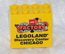 Exclusive Lego Legoland Factory Chicago Brick Yellow