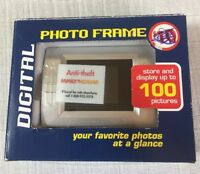 """Family dollar Digital Photo Frame Stores up to 100 1.5"""" LCD screen"""
