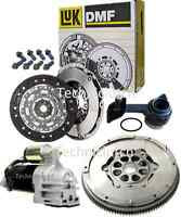 FORD MONDEO 115 TDCI LUK DUAL MASS FLYWHEEL, STARTER, CLUTCH KIT, BOLTS AND CSC