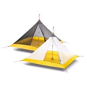Breathable Pyramid Tent For Camping Outdoor Sleeping Canopy Sunshade Waterproof