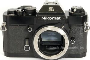 Nikkormat EL 35mm SLR Film Camera Body for Spares or a Perfect repair project!
