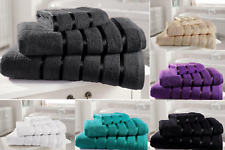 100% Egyptian Cotton Face Hand Bath Sheet Jumbo Towels with Super Soft Absorbent