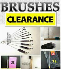 Brushes To Clean Straws, Tubing, Bottles, Glassware, Short, Long, Narrow, Wide