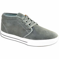 Mens Leather Suede Casual Retro Dessert Trainers Ankle Boots Shoes Size UK 12