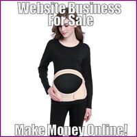 WOMENS MATERNITY Website Earn $20.50 A SALE|FREE Domain|FREE Hosting|Traffic