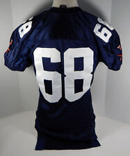 Virginia Cavaliers  #68 Game Used  Blue Jersey