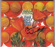 """The """"That Lucky Old Sun"""" CD signed by Brian Wilson"""