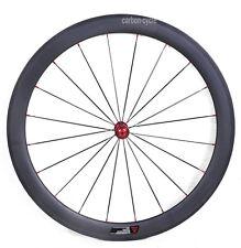 50mm Carbon Wheel Tubular Front Rim Road Bike Race 700C UD Matt Chosen