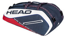 HEAD Tour Team NEW YORK 12R SMU Tennis Bag Backpack Navy Racquet NWT 283827