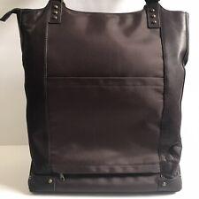 Solo Premium Leather 16 Inch Laptop Bucket Tote, Espresso