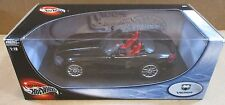 Hot Wheels Dodge Viper SRT-10 Black Convert Sport Car Die Cast 1:18 Scale NEW