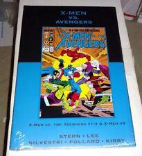 X-MEN VS AVENGERS DM Variant Hardcover Vol 35 Stern Silvestri Lee NM SEALED