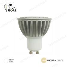 FARETTO LED IN METALLO GU10 5,5W COB REFLECTOR LUCE NATURAL NATURALE 4000K 4500K