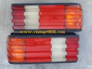 79-91 Mercedes Benz W126 pair of OEM taillights 300SE 420SEL 500SEL top quality