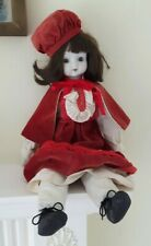 """Lovely 16"""" Reproduction Antique Doll"""