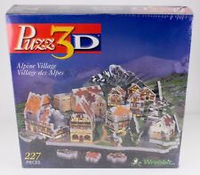 Puzz3D Alpine Village [P3D-6504] Brand New Sealed Rare 3D Jigsaw Puzzle