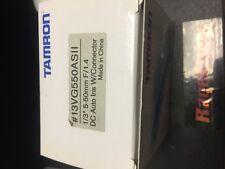 Tamron CCTV Lens #13vg550as11 5-50mm f1.4 dc auto iris Glass optics NEW