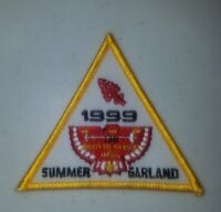 Boy Scout OA lodge 138 Ta Tsu Hwa Summer 1999 Camp Garland Activity Patch