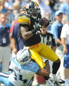 MIKE WALLACE 8X10 PHOTO PITTSBURGH STEELERS PICTURE NFL FOOTBALL