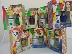 """Harmony Gelish Duo Gel & Lacquer - """"Little Miss Nutcracker"""" - Choose your Colors"""