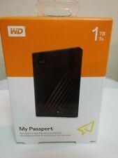 Lot of 9 WD 1TB My Passport Portable Storage USB 3. - Black - WDBYVG0010BBK-WESN