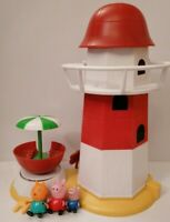 Peppa Pig Beach Lighthouse with Peppa, George and Candy Cat Playset (2)