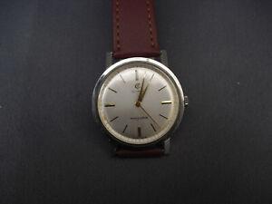 Cyma Navystar vintage mechanical watch stainless steel manual wind working