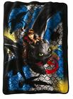 How to Train Your Dragon 2 Dragon Scale Raschel Fleece Blanket Throw 46